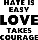 Hate is Easy Love