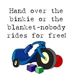 Nobody rides for free!