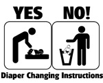 Diaper Changing Instructions
