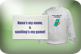 Nana and Nanna Gifts and T-Shirts
