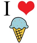 I Love (Heart) Ice Cream