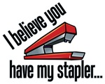 You Have My Red Stapler