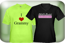 Grammy or Grammie Gifts and T-Shirts
