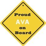 Proud Ava on Board