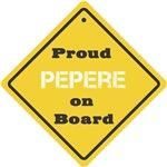 Proud Pepere on Board