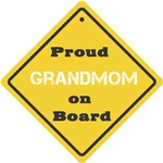 Proud Grandmom on Board