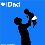 iDad Father and Baby Blue