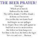 The Beer Prayer, Humorous Beer & Bar Gifts