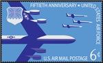 Air Force Postage Stamp Artwork