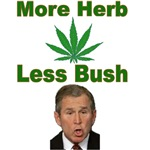 More Herb Less Bush Tshirts