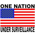 One Nation Under Surveillance Tshirts