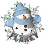 Flakey Snowman