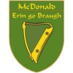 McDonald 1798 Harp Shield