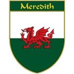 Meredith Welsh Flag Shield