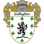 Gallagher Coat of Arms (Mantled)