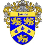 James Coat of Arms (Mantled)