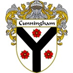 Cunningham Coat of Arms (Mantled)