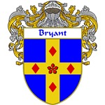 Bryant Coat of Arms (Mantled)