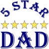 Father's Day 5 Star Dad