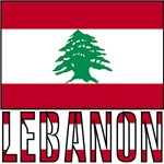 Lebanese Flag and Lebanon
