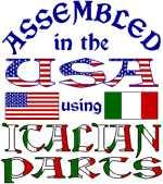 USA/Italian Parts