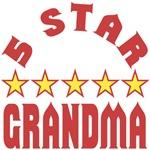 Women's Shirts - 5 Star Grandma