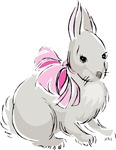 Grey Easter Bunny T-shirts & Gifts