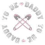 Daddy to Be Pink Girl T-shirts Gifts
