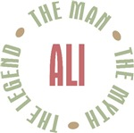 Ali the Man the Myth the Legend T-shirts Gifts