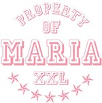 Property of Maria Personalized T-shirts Gifts