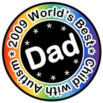 World's Best Dad of Child with Autism Tees Gifts