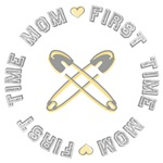 First Time Mom Yellow Tees and Gifts