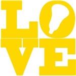 Lacrosse Love Gold
