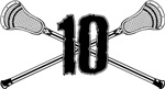 Lacrosse Number 10 low