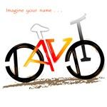 David red and yellow bike