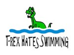 T Rex Hates Swimming