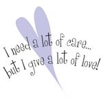 Special Needs ~ Need a Lot of Care/Give a Lot of L