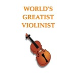 a funny violin joke on gifts and t-shirts.