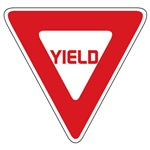 Yield Sign T-shirts
