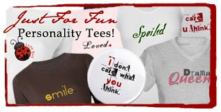 JUST FOR FUN Personality Tees