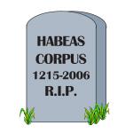 RIP Habeas Corpus - Apparel
