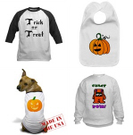 Halloween Apparel for Babies, Kids & Dogs