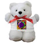 Teddy Bears<br>Wearing Printed Shirts