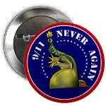 911 Never Again<br>Buttons - Stickers - Magnets