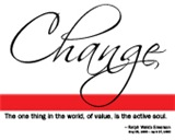Emerson Quote - Change