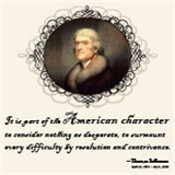 Thomas Jefferson - American Character