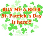Buy me a beer! St. Patrick's Day is Here!