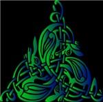 Green Celtic Animal