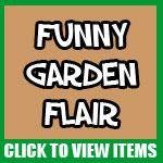 Garden Stickers, Magnets and Keychains