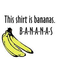 This shirt is bananas.